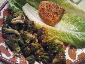 Spicy Chicken, Broccoli, Spinach