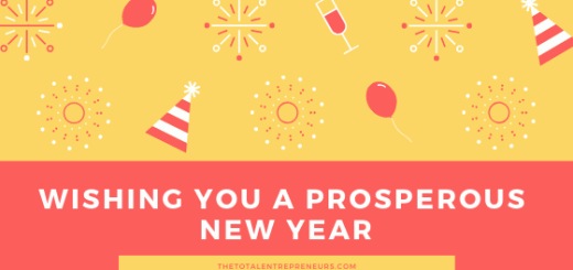 New Year Message for Entrepreneurs