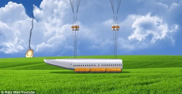 A Plane That Can Detach Its Entire CABIN In Case Of An Emergency & Land Passengers Safely Away From The Crash! 5