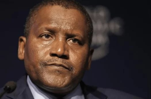 Aliko Dangote Loses 35% Of His Wealth Worth $5.4 Billion In Just One Year of Buhari's Administration