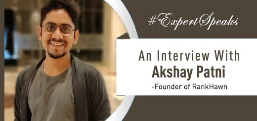 Akshay Patni Interview: 10 Things to learn at an early age