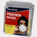 Filltite Premier FFP3 Face Mask Pack of 5
