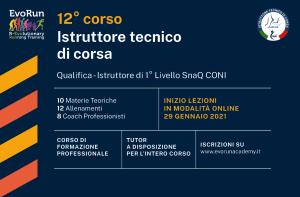 Corso Istruttore Tecnico di Corsa