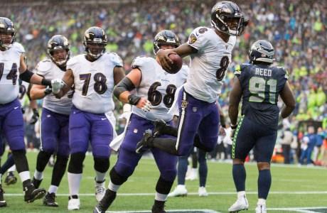 2019 NFL MVP, Baltimore Ravens