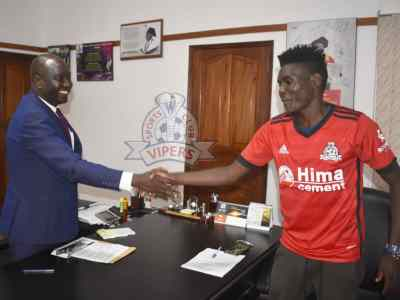 The Touchline Sports - Shaban Muhammad: Vipers confirms striker's departure