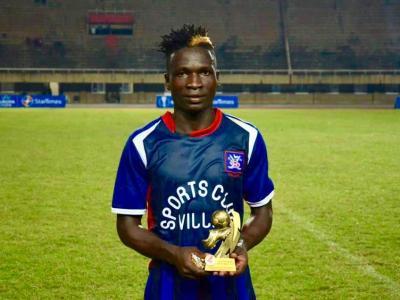 David Owori awarded man of the match award in the StarTimes Uganda Premier League