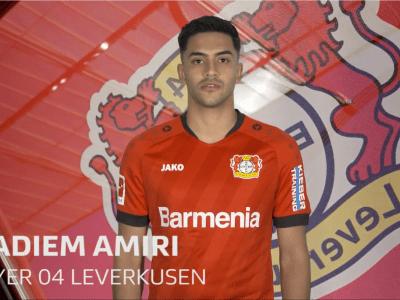 nadiem amiri - nadiem-amiri-qa-with-leverkusens-attacking-midfielder
