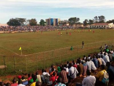 Busoga United Kakindu Stadium - the touchline sports