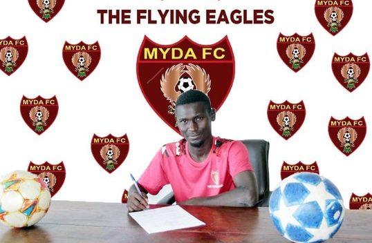 Paul Kibande joins MYDA - the touchline sports
