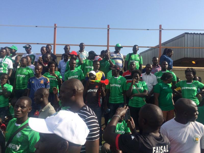 wear your jersey - Onduparaka fans