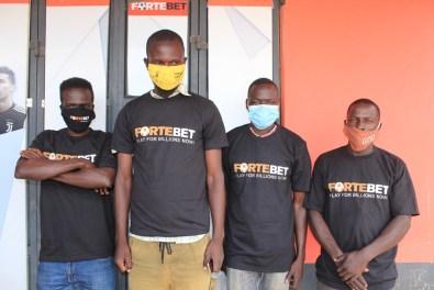 Kiryandongo T-shirts winners