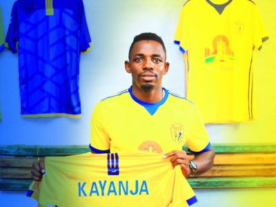 The Touchline Sports - Brian Kayanja: forward completes move to KCCA
