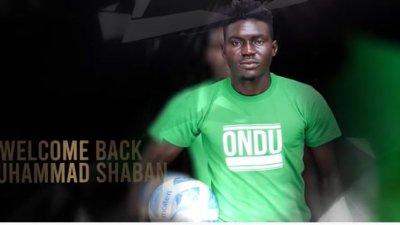 The Touchline Sports - Muhammad Shaban: striker completes move back at Onduparaka