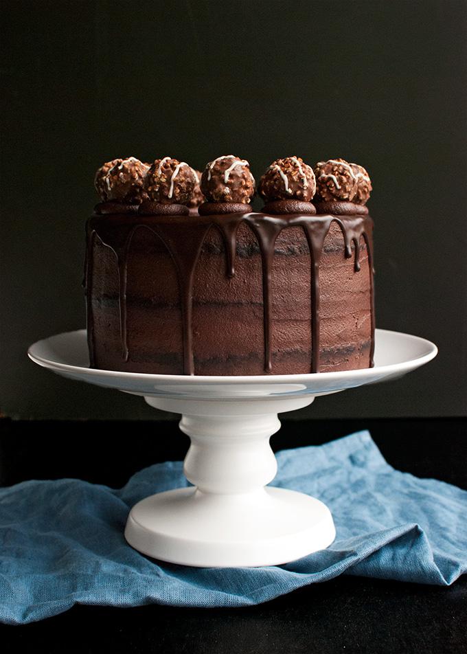Three Chocolate Cake Recipe