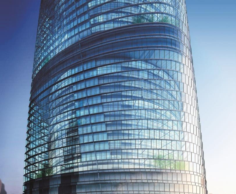 Shanghai Tower double-layer façade
