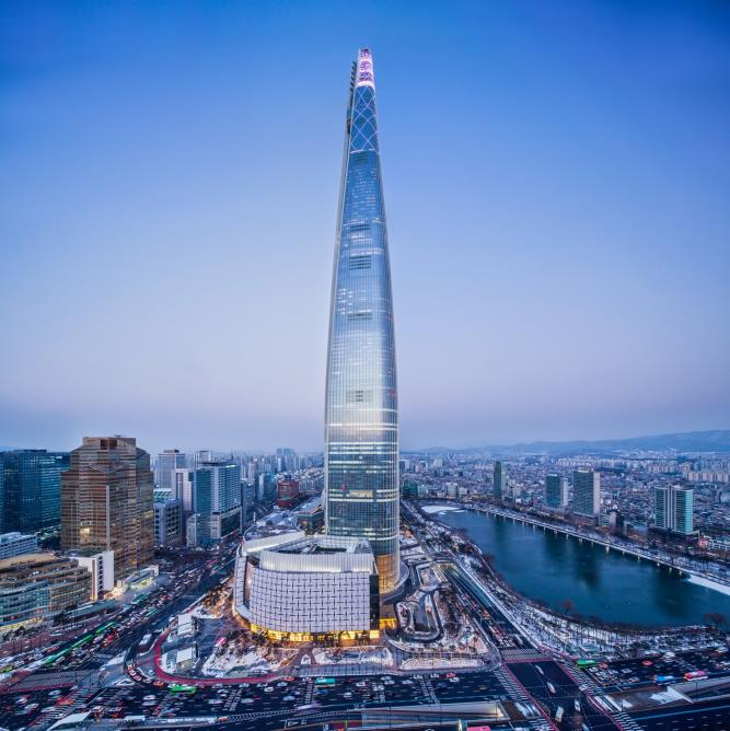 Image result for lotte world tower