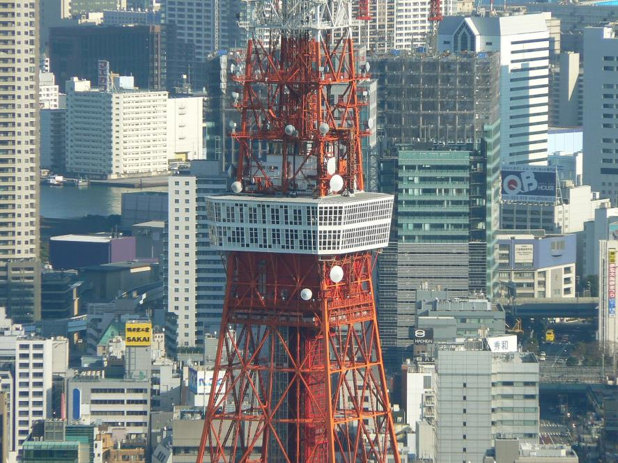The Main Observatory of Tokyo Tower