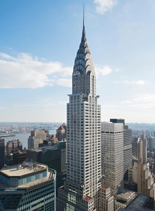 Chrysler Building High Rise New York