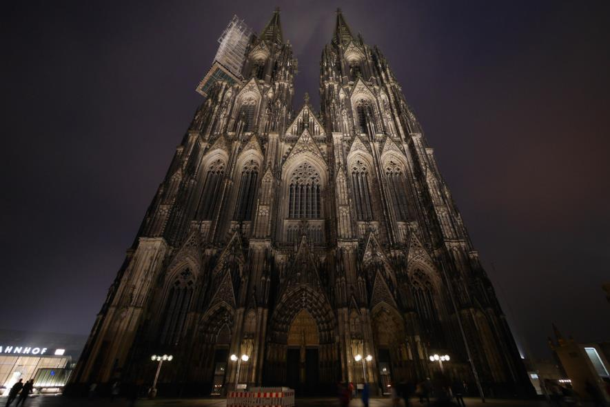 Western facade of Cologne Cathedral
