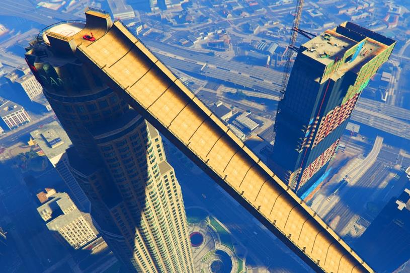 4 ways to get to the Top of Maze Tower in GTA V – The Tower Info