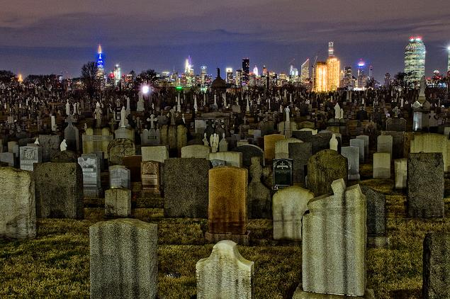 Calvary Cemetery in New York City