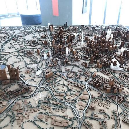 The model of KL city