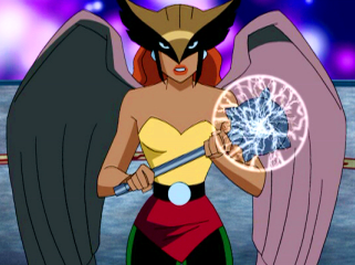 Still the only good Hawkgirl on TV.