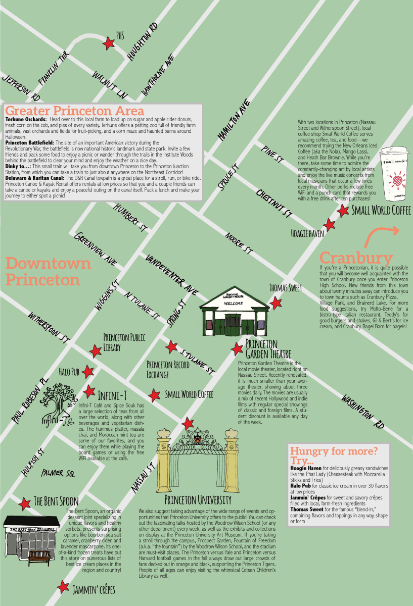 Princeton Weekend Guide – The Tower – 91st Year on