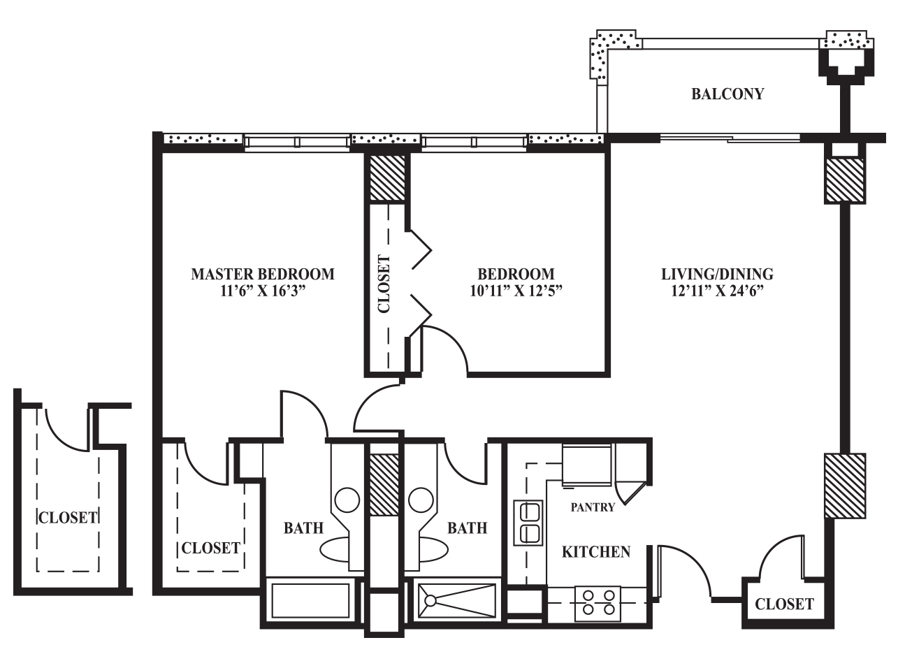 Master bath floor plans for Master bathroom floor plans 10x12