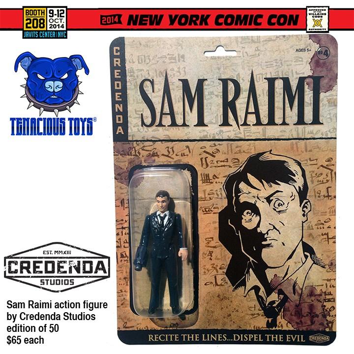 2014 NYCC Exclusive for Tenacious Toys- Sam Raimi action figure by Credenda Studios