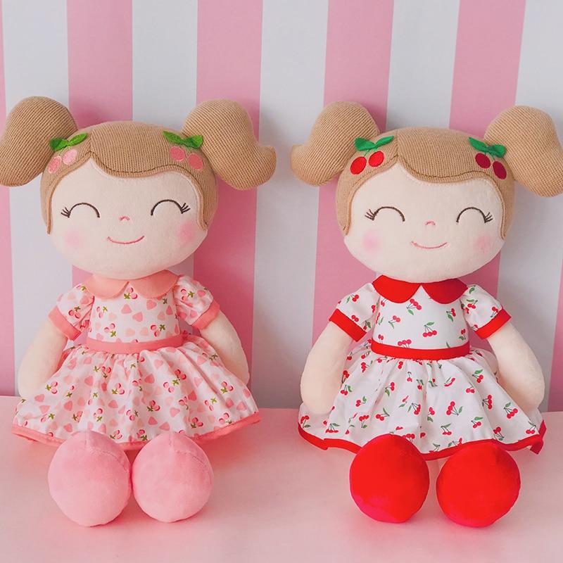 Gloveleya plush dolls Cherry girl's