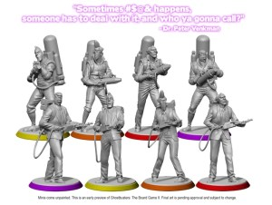 Ghostbusters The Board Game II Minis