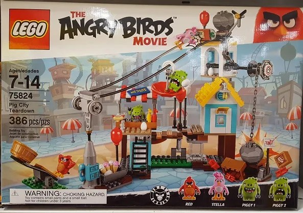 The Angry Birds Movie Sets