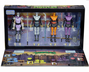 SDCC 2016 TMNT Shredder and Foot Clan Box Set