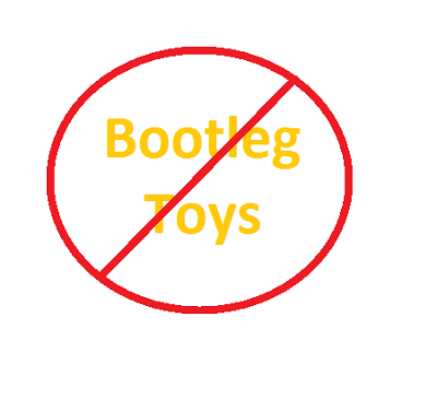 Avoid Bootleg Toys