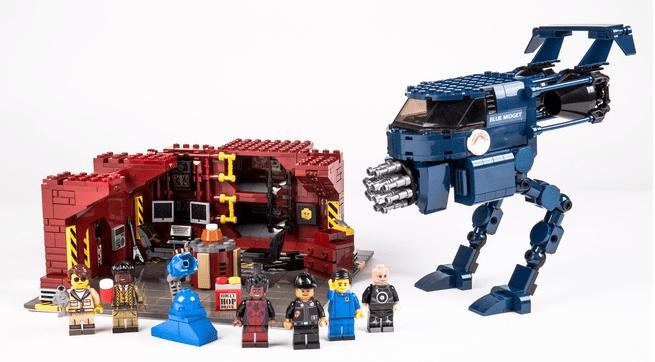 Red Dwaef Lego