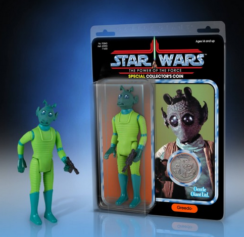 Gentle Giant Greedo POTF