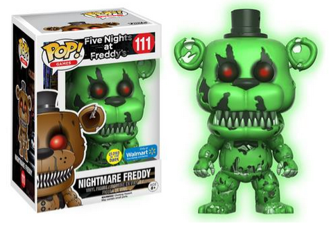 FNAF Exclusive Pop Figures