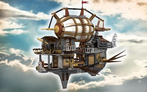 Steampunk Airship Pegasus