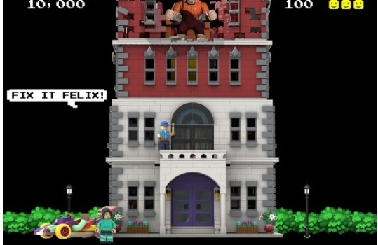 Wreck It Ralph Nicelanders Tower