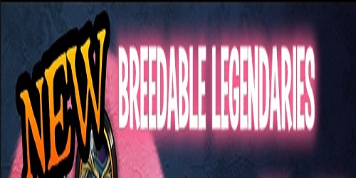 New Breedable Legendaries