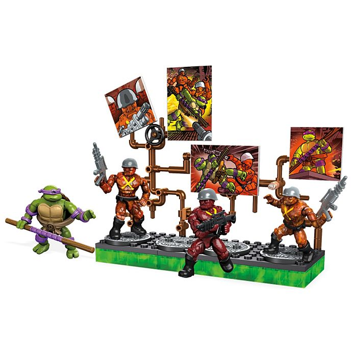 Mega Construx DXF17 TMNT Donatello Battle Pack