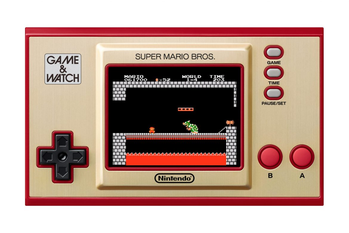 Nintendo Game & Watch Super Mario Bros. Released Today