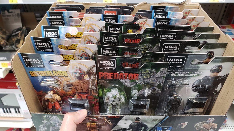 Mega Construx Black Series Heroes Box Distribution (Character Ratio)