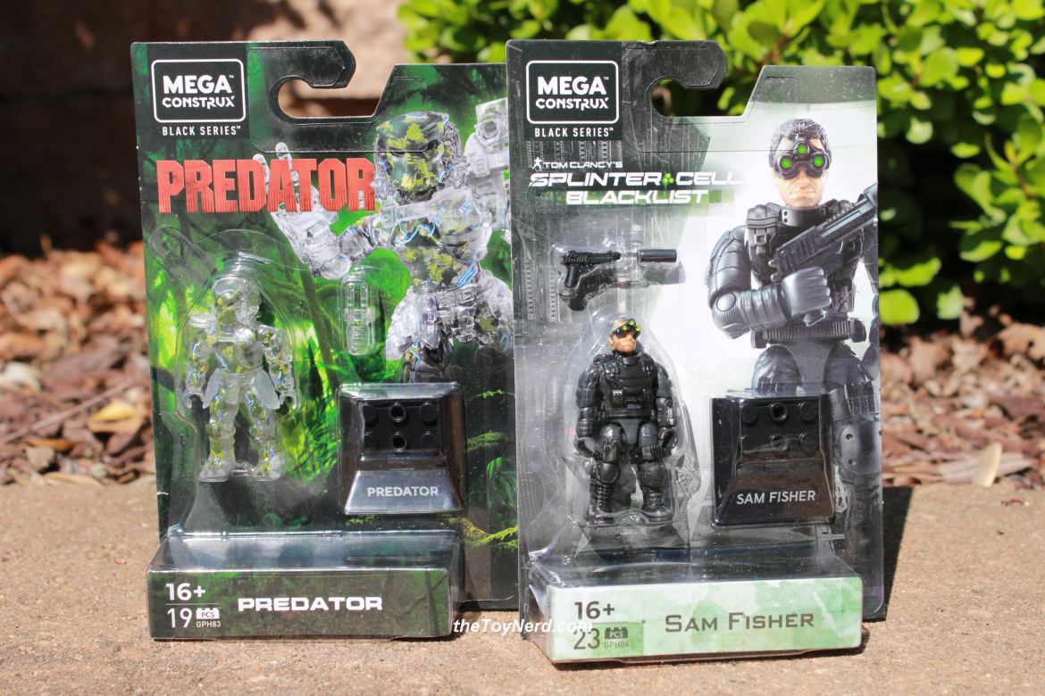 Mega Construx Black Series Heroes Predator (GPH83) and Sam Fisher (GPH84) Review