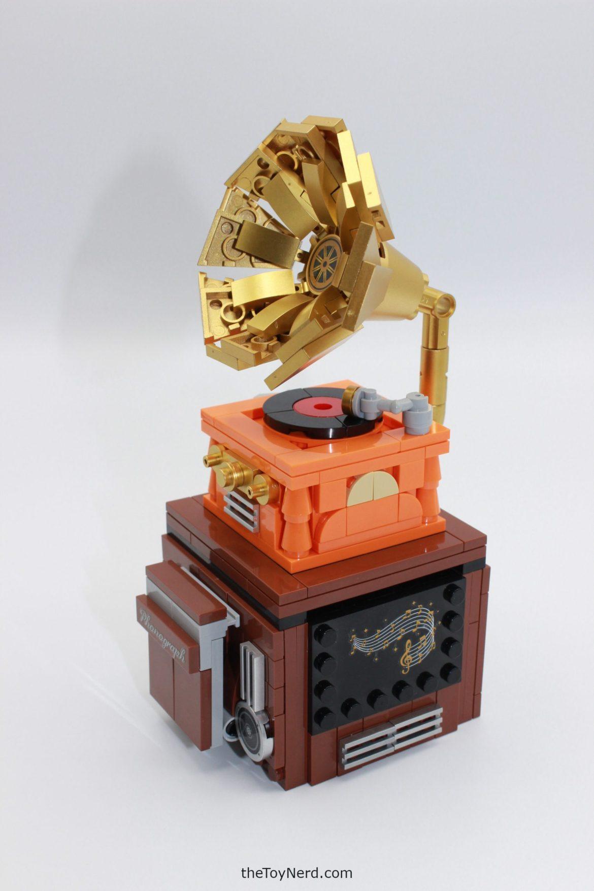 Sembo Block Gramophone Bluetooth Music Player Review