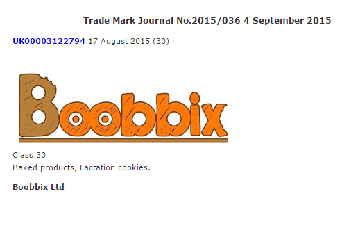 Lactation Cookies, The Mo Farrah Foundation and The Porkinator – This week's UK Trade Mark Journal!