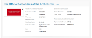 The Official Santa Clause of the Arctic Circle