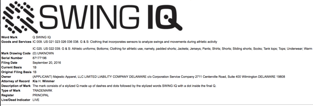 swingiq-trademark-application-for-wearable-golf-accessories-golf-swingiq