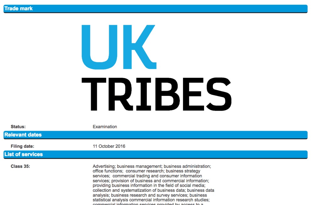 UK broadcaster Channel 4 Applies for Trademark for UK Tribes c4 Channel4 UKTribes